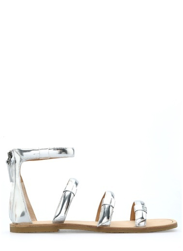 Marc By Marc Jacobs Sandalet Gümüş